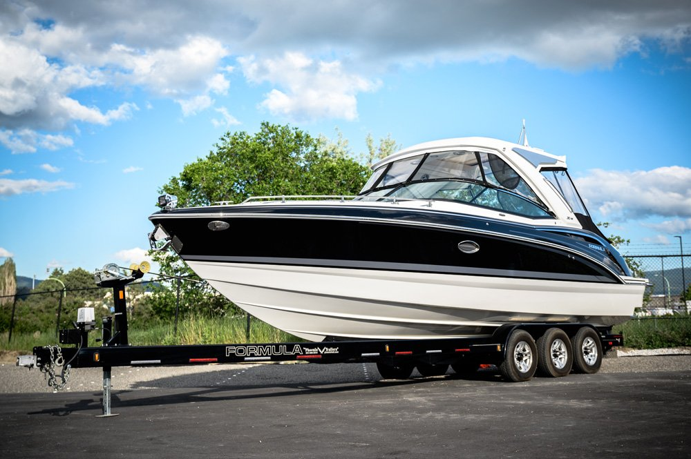 Need a boat valet or haul, Flagship Marine has a trailer for every scenario.