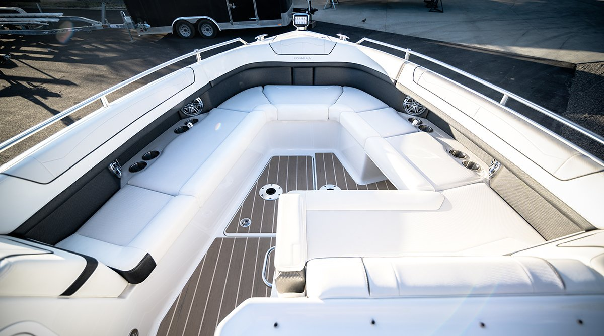 Boat Detailing Packages starting at $199 at Flagship Marine in Kelowna.